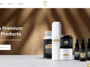 CBD Products Website | Potential Profit: 5000$/month