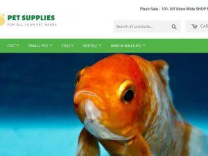 Pet Products Website | Potential Profit: 5000$/month