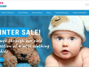 Baby Fashion Website | Potential Profit: 6000$/month