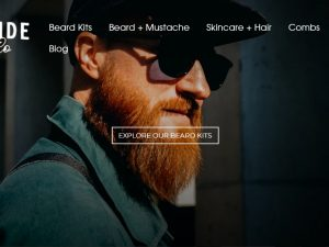 Beard Products Website | Potential Profit: 6000$/month