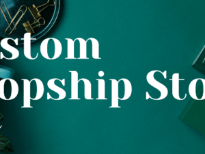 Custom Dropship Store
