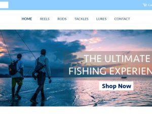 Fishing Dropship Ecommerce Website | Potential Profit: 5000$/month