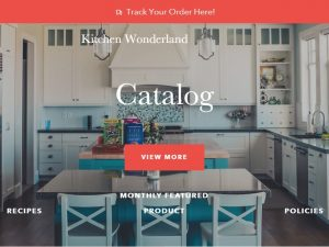 Kitchen Dropship Ecommerce Website | Potential Profit: 5000$/month