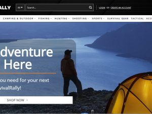 Outdoor and Survival Gear Dropship Ecommerce Website | Potential Profit: 5000$/month