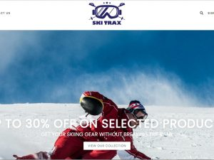 Ski Dropship Ecommerce Website | Potential Profit: 5000$/month