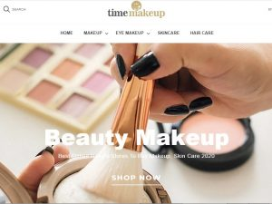 SkinCare Products Website | Potential Profit: 5000$/month