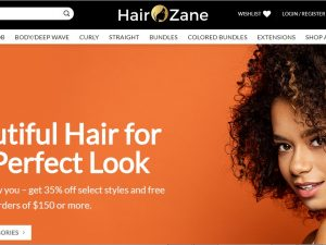 Wig and hair extension Dropship Ecommerce Website | Potential Profit: 5000$/month